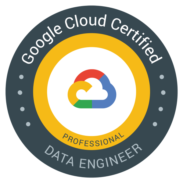 Google Cloud - Professional Data Engineer Certification learning path