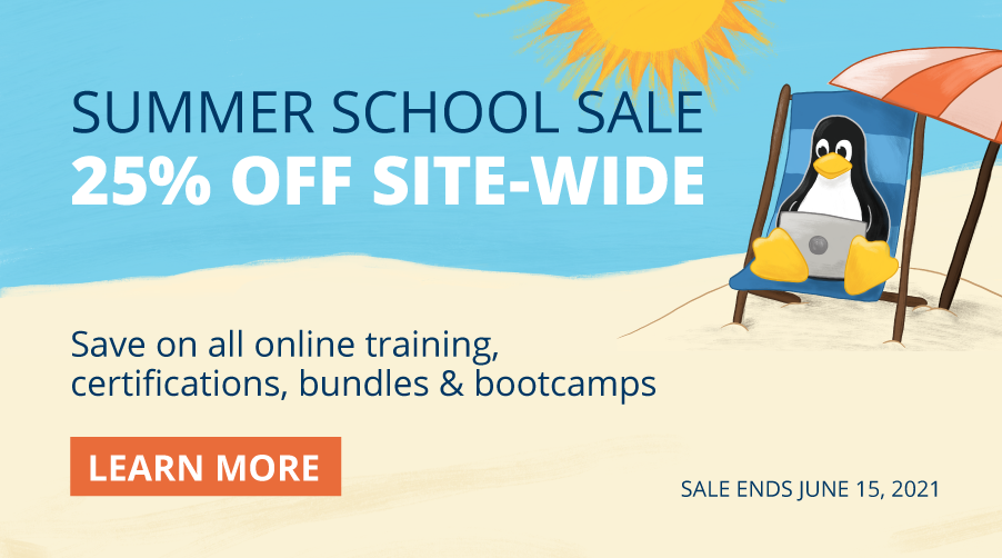 Linux Foundation Summer Sale - Coupon Code SUMMER25